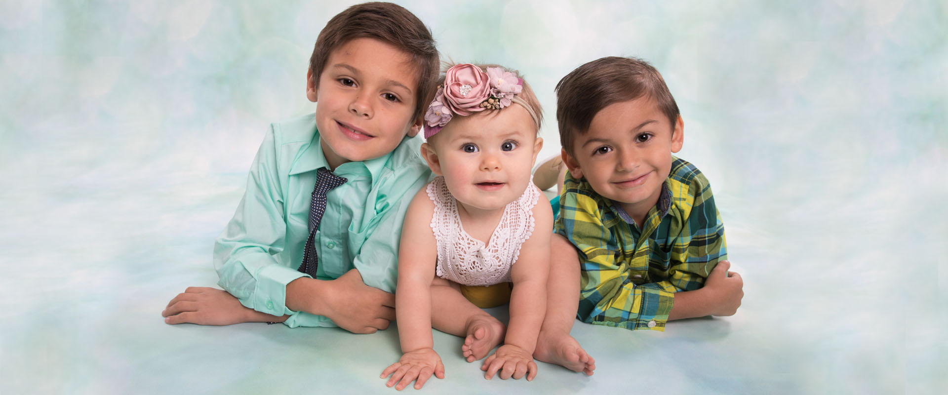 Spring Sibling Portrait